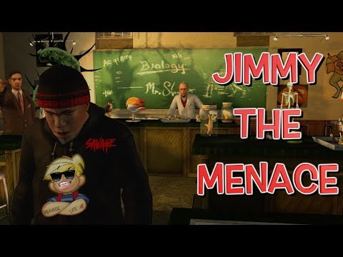"""JIMMY THE MENACE! ( FUNNY """"BULLY SCHOLARSHIP EDITION"""" GAMEPLAY #8)"""