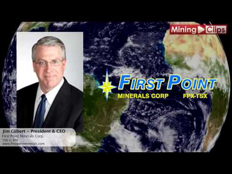 """Mining Pitch"" - First Point Minerals President & CEO, Jim Gilbert..."