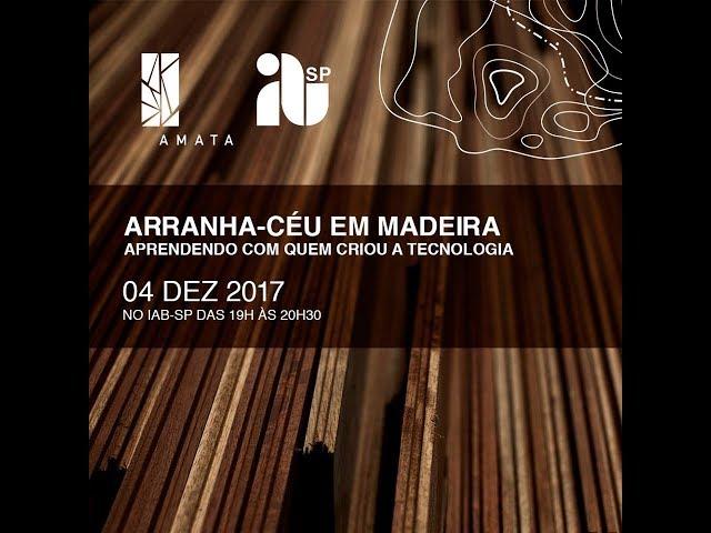 Arranha-céu em Madeira - Aprendendo Com Quem Criou a Tecnologia