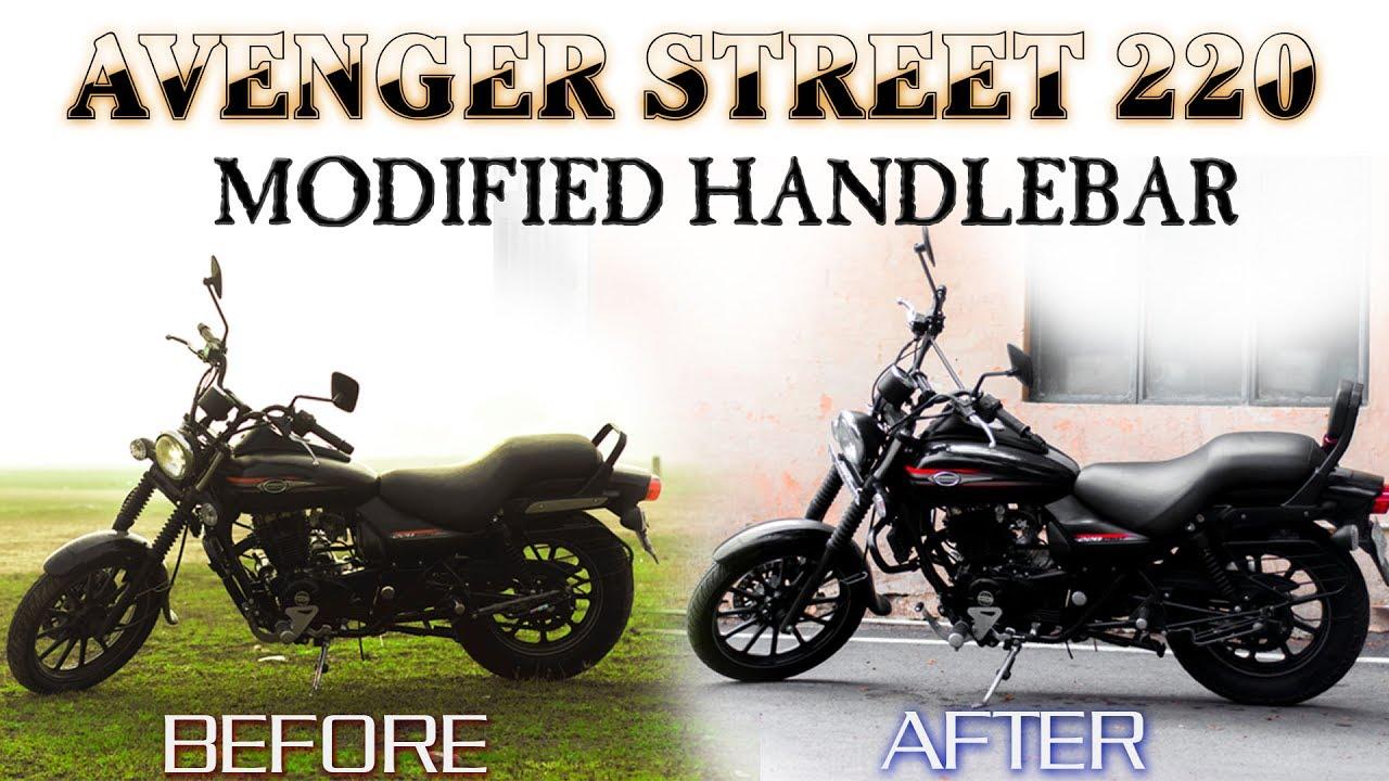 Handlebar Change Modifications Bajaj Avenger Street 220