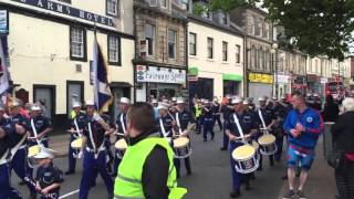 Irvine Newtown Defenders Parade 2016