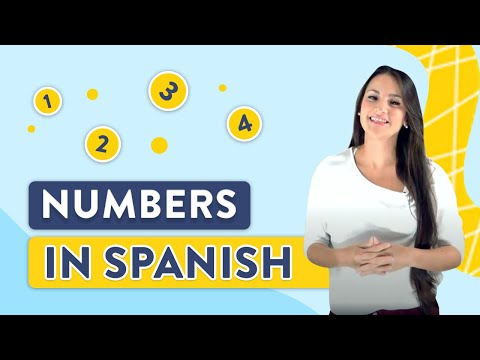 Learn Numbers: Spanish Lesson #7