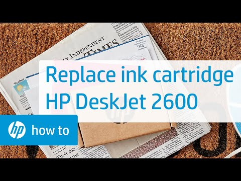 Replace the Ink Cartridge | HP DeskJet 2600 All-in-One Printer Series | HP