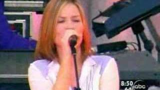 Dido live at Good morning America