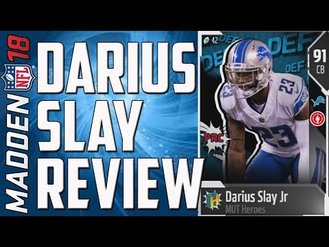 HOW GOOD IS 91 MUT HERO DARIUS SLAY JR? MUT 18 CARD REVIEW