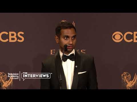 "Emmy winner Aziz Ansari (""Master of None"") on telling different stories — 2017 Primetime Emmys"