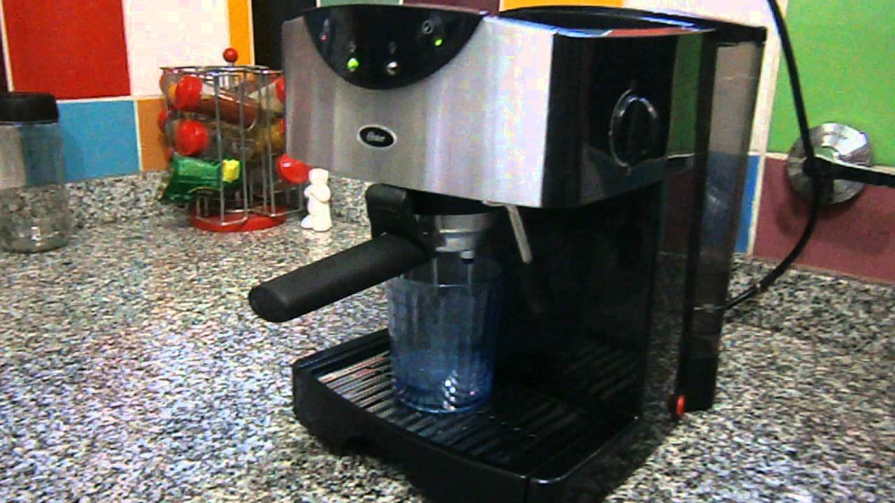 Oster Coffee Maker Stopped Working : Cafetera Express Oemp50 Oster - YouTube