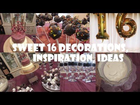 Low Key Sweet 16 Party Ideas!