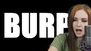 Girl Burp Compilation - Twitch Moments