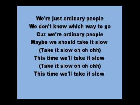 John legend ordinary people with lyrics (on screen) - YouTube.flv
