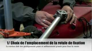 Montage du Torqeedo Ultralight sur le kayak Hobie Revolution