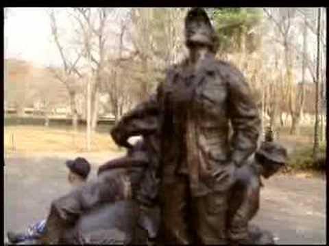 Artist, W.Va. officials argue over female veteran statue