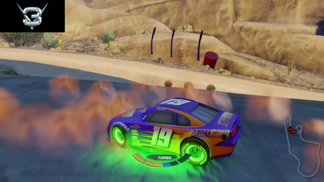 Cars 3 Driven To Win Bobby Swift In The Zone Ps4 Shortcuts Youtube