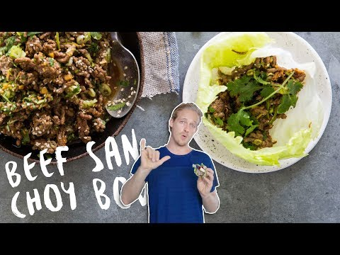 How To Make... Beef San Choy Bow !