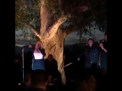 Christina Aguilera at Hillary Clinton Victory Fund event tonight #2