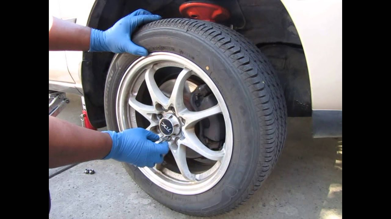 how to change a tire youtube
