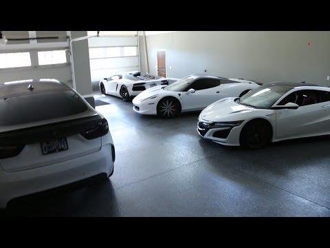 My friend Chris' Insane Supercar Collection
