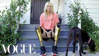 How Lauren Wasser, the Model With Golden Legs, Made a Triumphant Return | Vogue