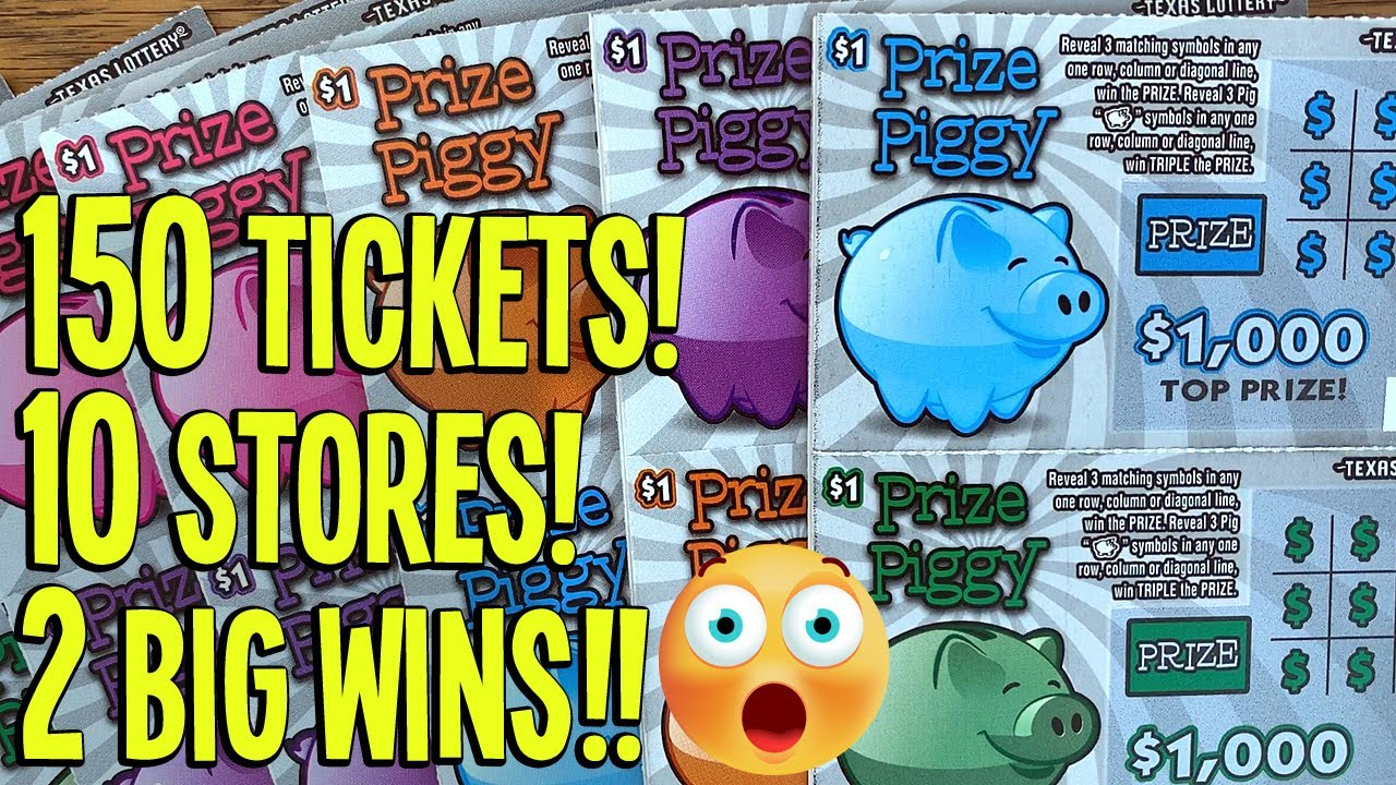 2 BIG WINS! 💰💰 IT'S PIGGY TIME! 🐷 150 TICKETS w/ 2 OUTLIERS! 🤑 Fixin To Scratch