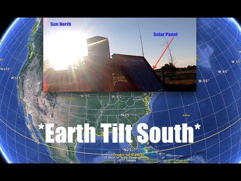 Earth tilting South - Sun too far North - Proof! - Michigan Farmer confirms Phenomenon