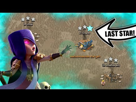 THE LAST STAR IN CLASH OF CLANS!