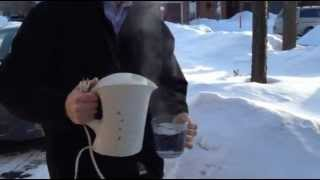 This is how cold it is in Ottawa