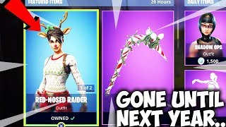 Get The OG Fortnite Christmas Skins NOW Or Wait 365 Days...