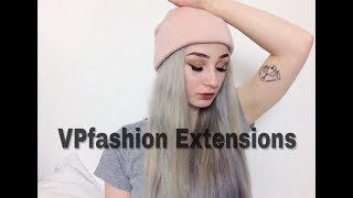 How to get silver hair // Vpfashion Extensions