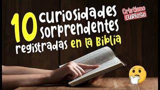 10 'CURIOSIDADES DE LA BIBLIA' QUE NO CONOCÍAS
