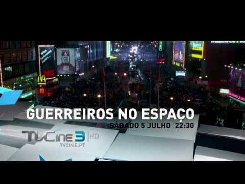 TVC3 | Guerreiros no Espaço | Estreia sábado, 5 de julho, 22h30