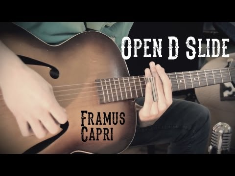 Slide Guitar - Open D Blues HD