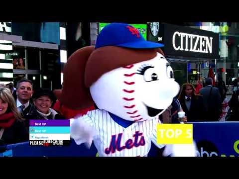 Baseball Team Mascot TOP 5 Baseball │Mascot Hall Of Fame 2015