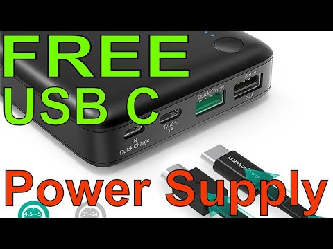 FREE RAVPower iSmart USB C Power Supply Review and Free Give Away