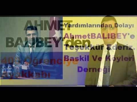 Ahmet Balıbey BASKİL'de Yardım Kampanyası Başlattı Baskil Ve Köyleri Derneği