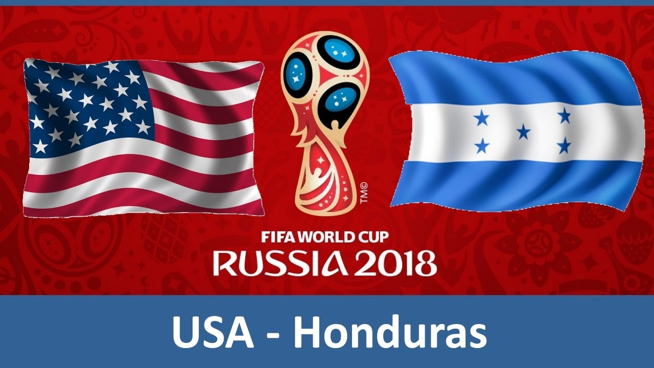 Usa Honduras 03 24 2017 World Cup 2018 Qualification