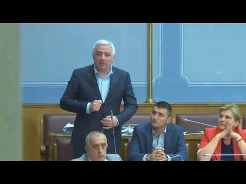 Vuurovi - Srbi u CG nisu manjina, Skuptina CG, 04.07.2018.
