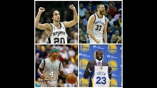 TOP 10 - ROBOS DEL DRAFT NBA