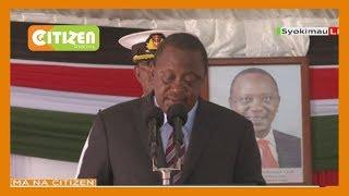 President Uhuru Kenyatta launches Nairobi-Naivasha freight train