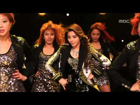 Ailee - I will show you, 에일리 - 보여줄게, Music Core 20121103