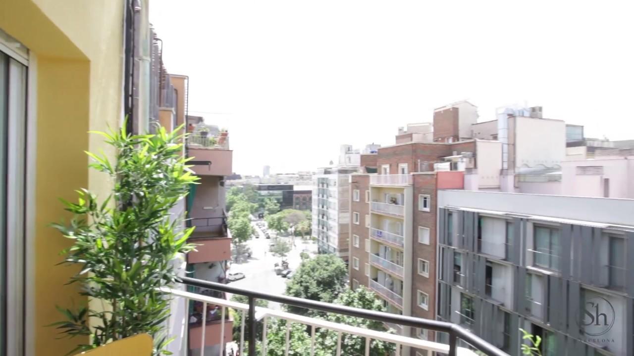 Excelente Apartamento Con Terraza En Barrio De L Eixample Shbarcelona
