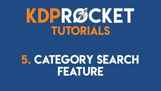 Finding Best Book Categories With KDP Rocket