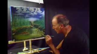 Flowers Over Looking The Pond Volume 8 Lesson # 169