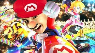 ALLEEN 1ste 🏆 PLEK TELT !! | Mario Kart 8 Deluxe