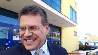 Maroš Šefčovič po prehratom súboji o prezidentský post