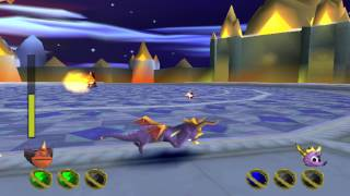 Spyro 2: Gateway to Glimmer (PS1) walkthrough - FINAL BOSS - Ripto