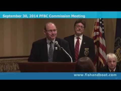 September 30, 2014, Pennsylvania Fish & Boat Commission quarterly meeting