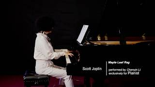 Chenyin Li plays Scott Joplin's Maple Leaf Rag