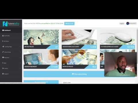 FutureAdPro Review- How to Buy Ad Packs in FutureAdpro-FutureNet Step by Step Instructions