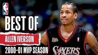 Iverson's 2000-01 MVP Season Highlights