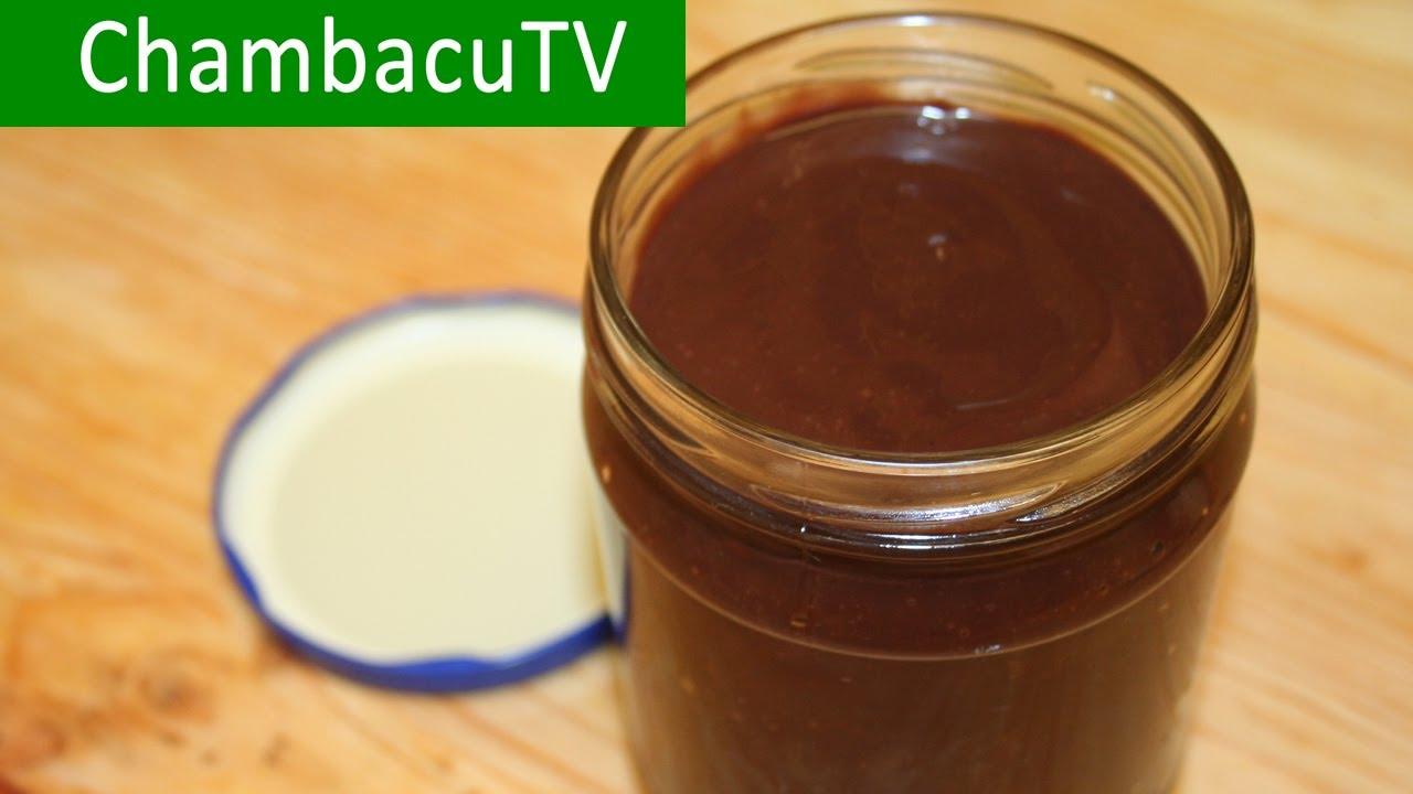 рецепт настоящей шоколадной пасты нутелла